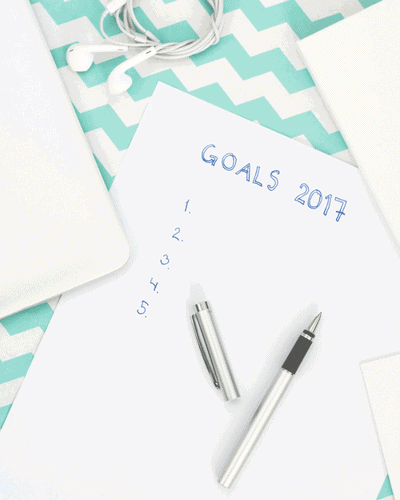 Goals for the year