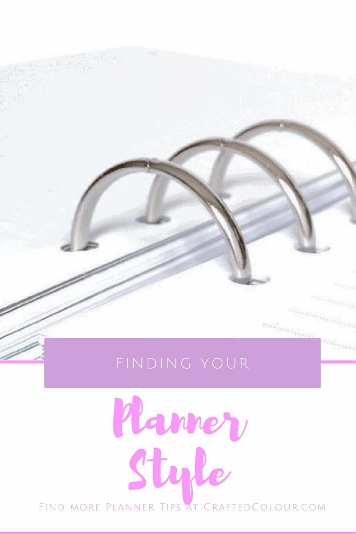 Finding your planner style