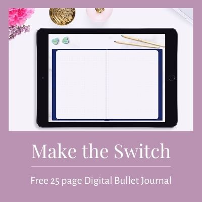 Free digital bullet journal